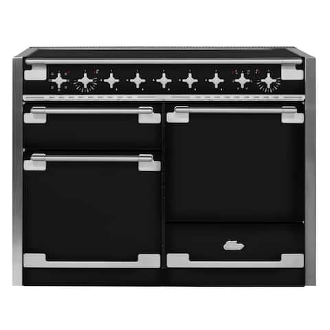 "AGA AEL48IN Elise Series 48"" Wide 6 Cu. Ft. Slide In Electric Range with Glide Out Broiler System"