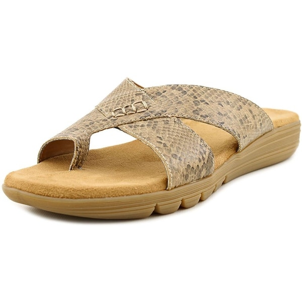 Aerosoles Adjustment Women Tan snake Sandals