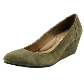 Cordani Indra Open Toe Suede Wedge Heel