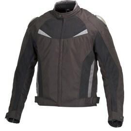 Men Motorcycle Cordura Race Jacket CE Protection Aluminum Shoulders Black MBJ059