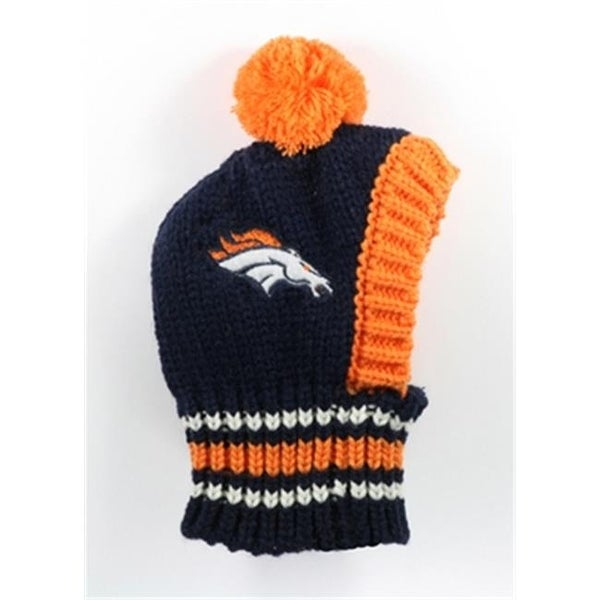 Shop Little Earth 3c20125 Brnc Lrg Large Nfl Broncos Knit Hat Free