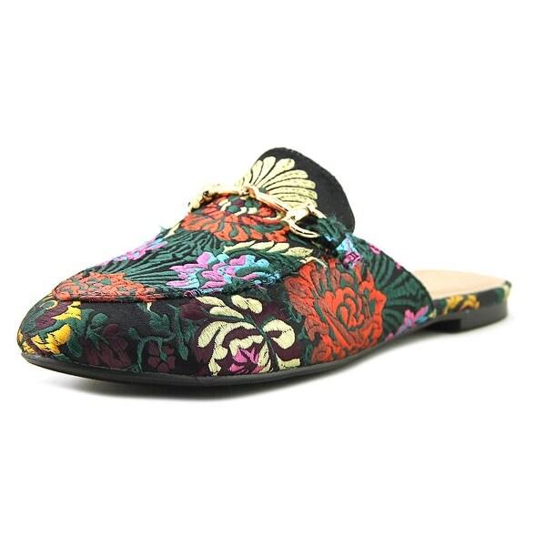 Wanted Festival Women Open Toe Canvas Multi Color Slides Sandal