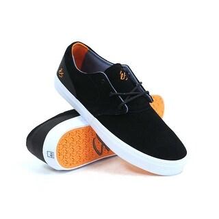 Es Accent Men's Skate Shoes - Black/White