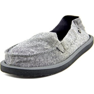 Sanuk Shorty TX Women Round Toe Synthetic Gray Loafer