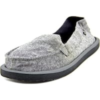 Sanuk Shorty TX Women  Round Toe Synthetic Gray Loafer
