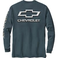 Legendary Whitetails Men's Cross Country Long Sleeve Tee - chevy slate
