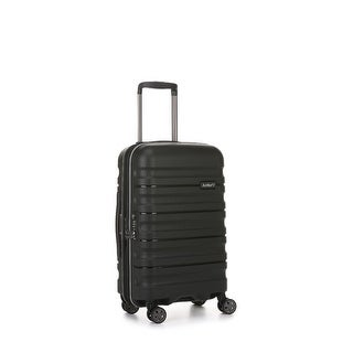 Antler Juno DLX Hardside Expandable Luggage Carry-On, Black