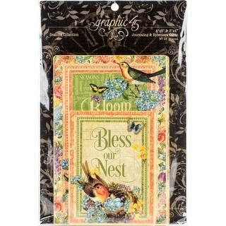 """Seasons Journaling & Ephemera Cards-(16) 4""""X6"""" & (16) 3""""X4"""""""