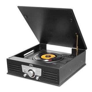 Bluetooth Classic Vintage Style Record Player Turntable Phonograph