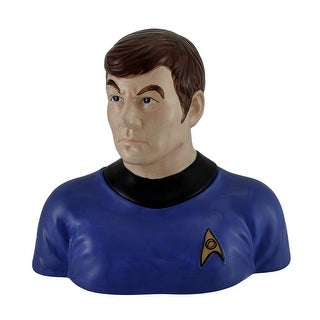 Star Trek Doctor Bones McCoy Decorative Ceramic Cookie Jar