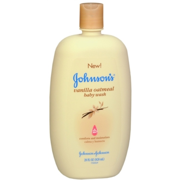 JOHNSON'S Vanilla Oatmeal Baby Wash 28 oz