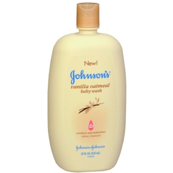 JOHNSON'S Vanilla Oatmeal Baby Wash 28 oz