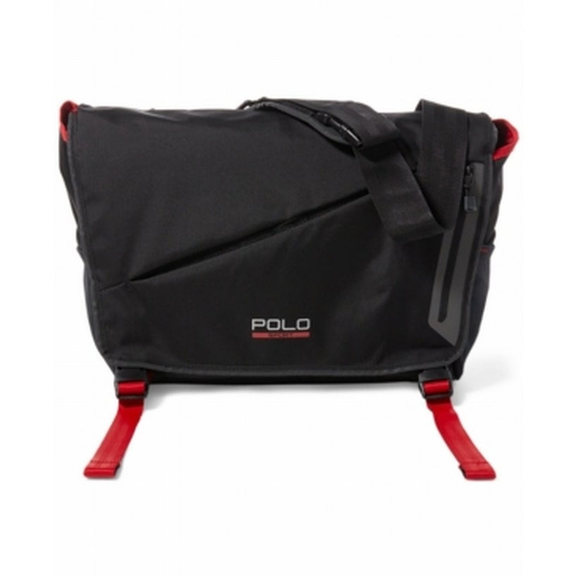 8aa49dc980 Shop Polo Ralph Lauren NEW Black Red Men's Sport Messenger/Shoulder Bag -  Free Shipping Today - Overstock - 20441725