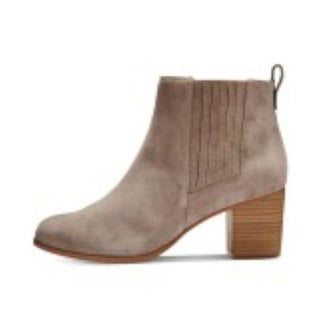 INC International Concepts Womens Fainn Leather Closed Toe Ankle Chelsea Boots