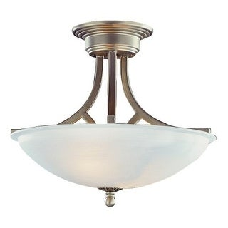Trans Globe Lighting 6405 Two Light Down Lighting Semi Flush Ceiling Fixture
