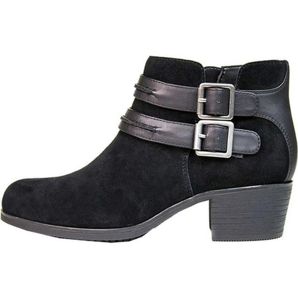 Utterly Ankle Bootie Black Suede