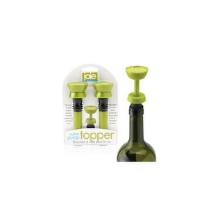 Joie MSC 28089 Wine Pump Topper, Card/2