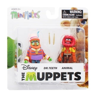 Muppets Minimates Series 2 2-Pack: Dr. Teeth & Animal - multi