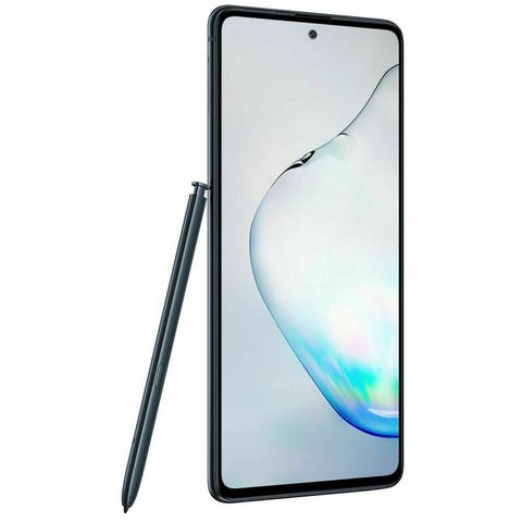 Samsung Galaxy Note10 SMN970U 256GB Aura Black Verizon GSM Refurbished Unlocked T-Mobile ATT