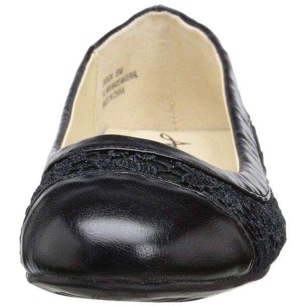 185fca1cc5f Shop Annie Shoes Women s Ensign Ballet Flat - Free Shipping On Orders Over   45 - Overstock - 27099760