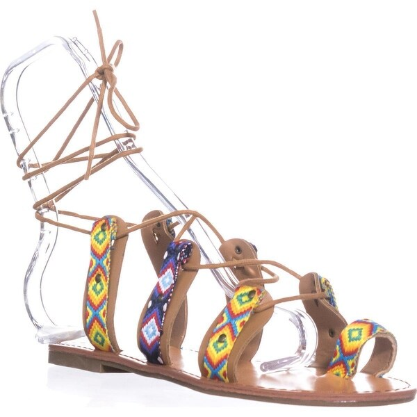 Indigo Rd. Garlan Flat Strappy Sandals, Yellow