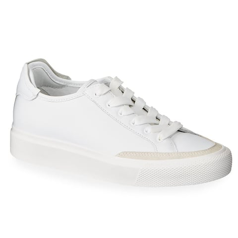 rag and bone Womens Rb Army Low Sneakers, White