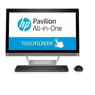 "Manufacturer Refurbished - HP Pavilion 24-B227C 23.8"" Touch AIO Desktop Intel i5-7400T 2.4GHz 12GB 1TB W10"