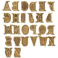 Hot Stamps Alphabet Set 26/Pkg