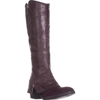 Donald J Pliner Devi5 Knee High Double Zip Boots, Chianti/Chianti