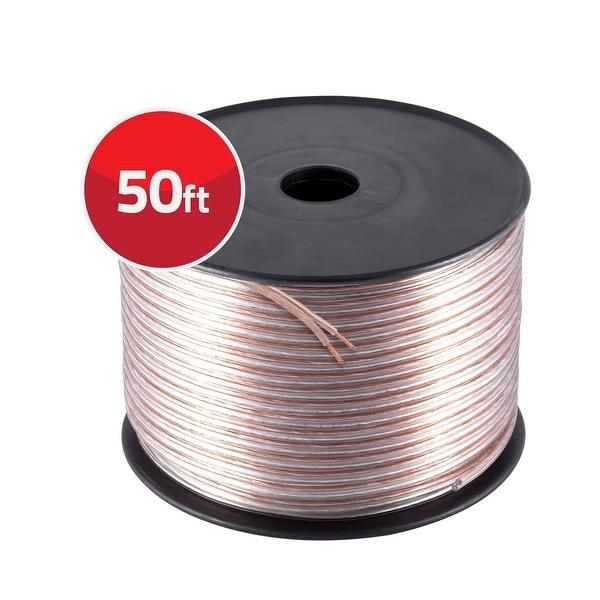 12 Gauge High Flex Precision Audio Cable Ultra Speaker Wire 50 Feet Roll