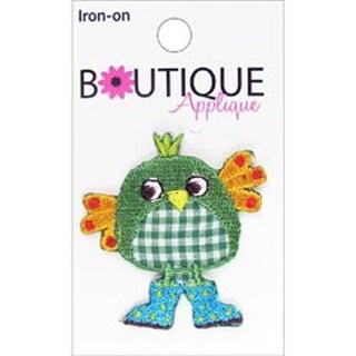 Green Bird - Iron-On Appliques