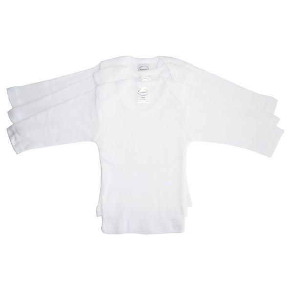 Bambini Long Sleeve White Lap T-shirt - Size - Medium - Unisex