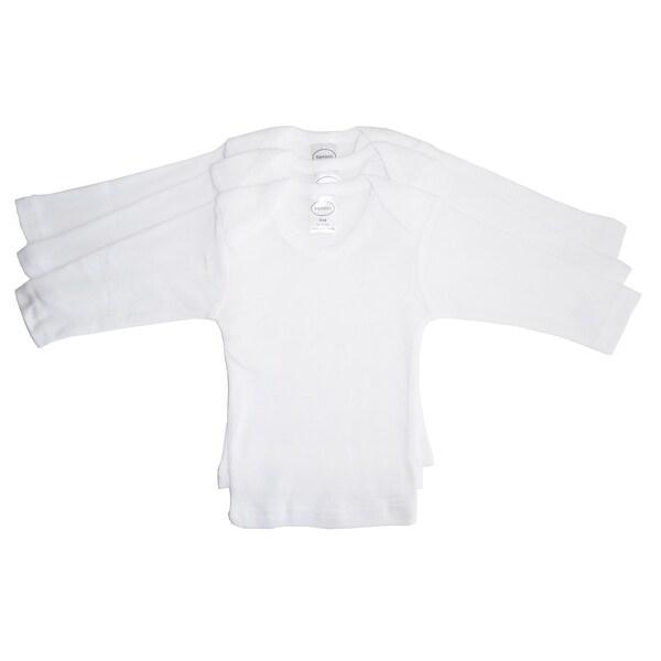 Bambini Long Sleeve White Lap T-shirt - Size - Newborn - Unisex