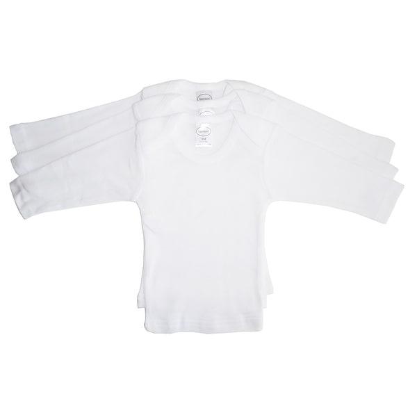 Bambini Long Sleeve White Lap T-shirt - Size - Small - Unisex