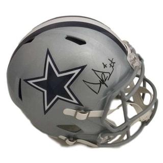 Dak Prescott Autographed Dallas Cowboys Full Size Speed Replica Helmet JSA - Black - 5' x 8'