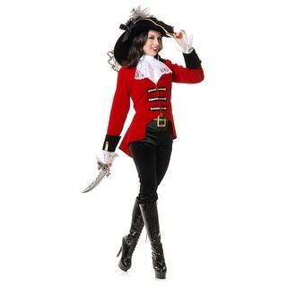 Womens Regal Pirate Lady Costume