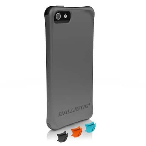 Smooth Series Case for iPhone 5/5S - Grey - Retail Packaging