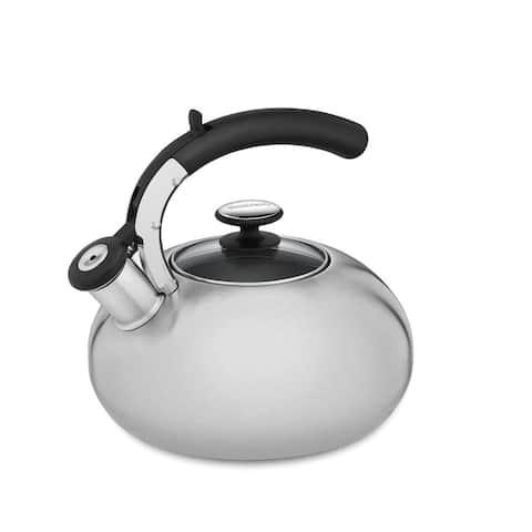 Cuisinart CTK-SS15 Prodigy Stainless Steel Tea Kettle, 2-Quart
