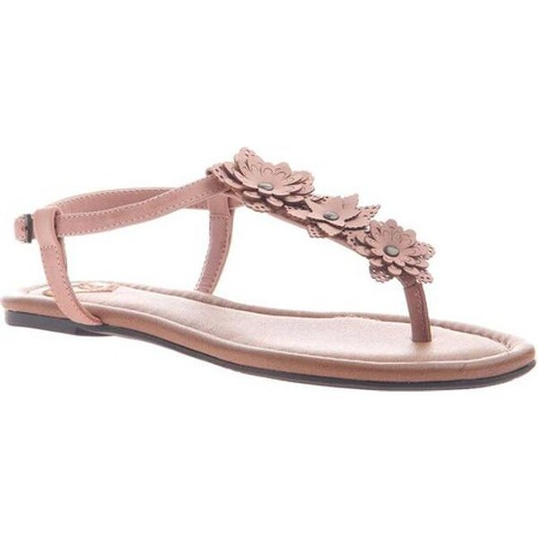 47afe705707 Shop Madeline Women s Starburst T Strap Sandal Salmon Synthetic - On Sale -  Free Shipping On Orders Over  45 - Overstock - 20659286