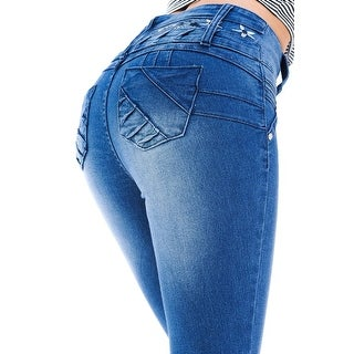 M Michel Women S Jeans Colombian Design Push Up Skinny Style 6F112