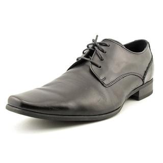 Calvin Klein Brodie Men W Plain Toe Leather Black Oxford