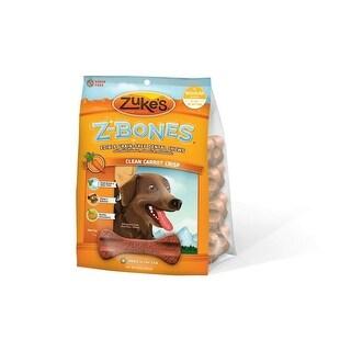 Zuke's Z-Bones Grain Free Edible Dental Chews Clean Carrot Crisp 8 count Medium