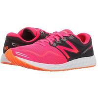 New Balance Womens Veniz V1 Running Shoe, Phantom/Alpha Pink