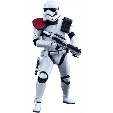 Star Wars First Order Stormtrooper Officer 1:6 Scale Collectible Figure - multi