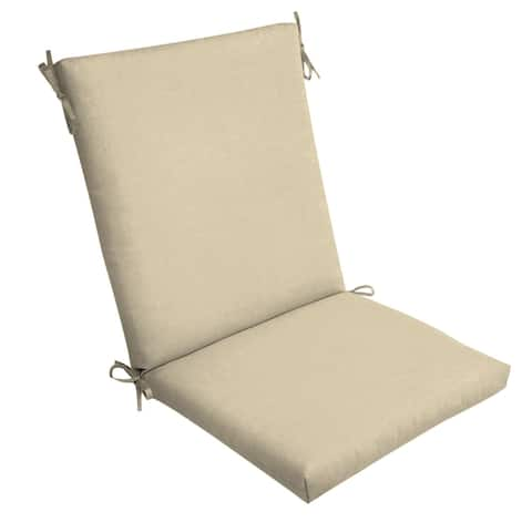 Arden Selections New Tan Leala Texture Outdoor Chair Cushion - 44 in L x 20 in W x 3.5 in H