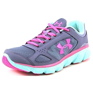 Under Armour GPS Assert V AC Round Toe Leather Running Shoe