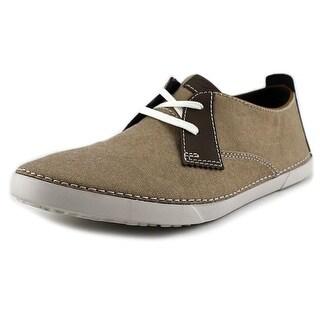 Clarks Neelix Vibe Men Round Toe Canvas Sneakers