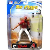 "Major League Baseball 4"" Action Figure Bradon Webb - multi"