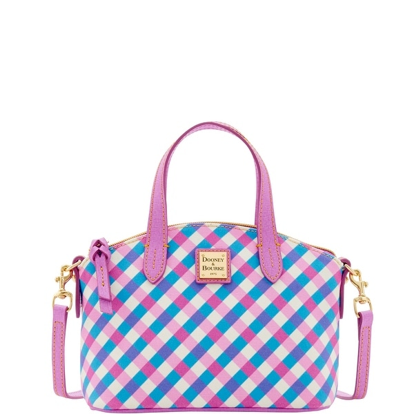 Dooney & Bourke Elsie Ruby Bag (Introduced by Dooney & Bourke at $158 in Jun 2016) - pink sky blue