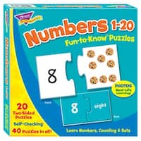 Puzzle Numbers 1 20